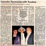 Gettorfer Turnverein stillt Tanzlust